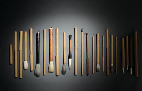 書畫熱潮帶動毛筆收藏行情:書畫之道即制筆之